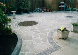 D C Landscapes driveways, patios, brickwork, fencing, gardens, turfing, water features, pagodas, gazebos, decking, all aspects of landscaping